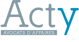 Acty. Avocats d'affaires. Logo